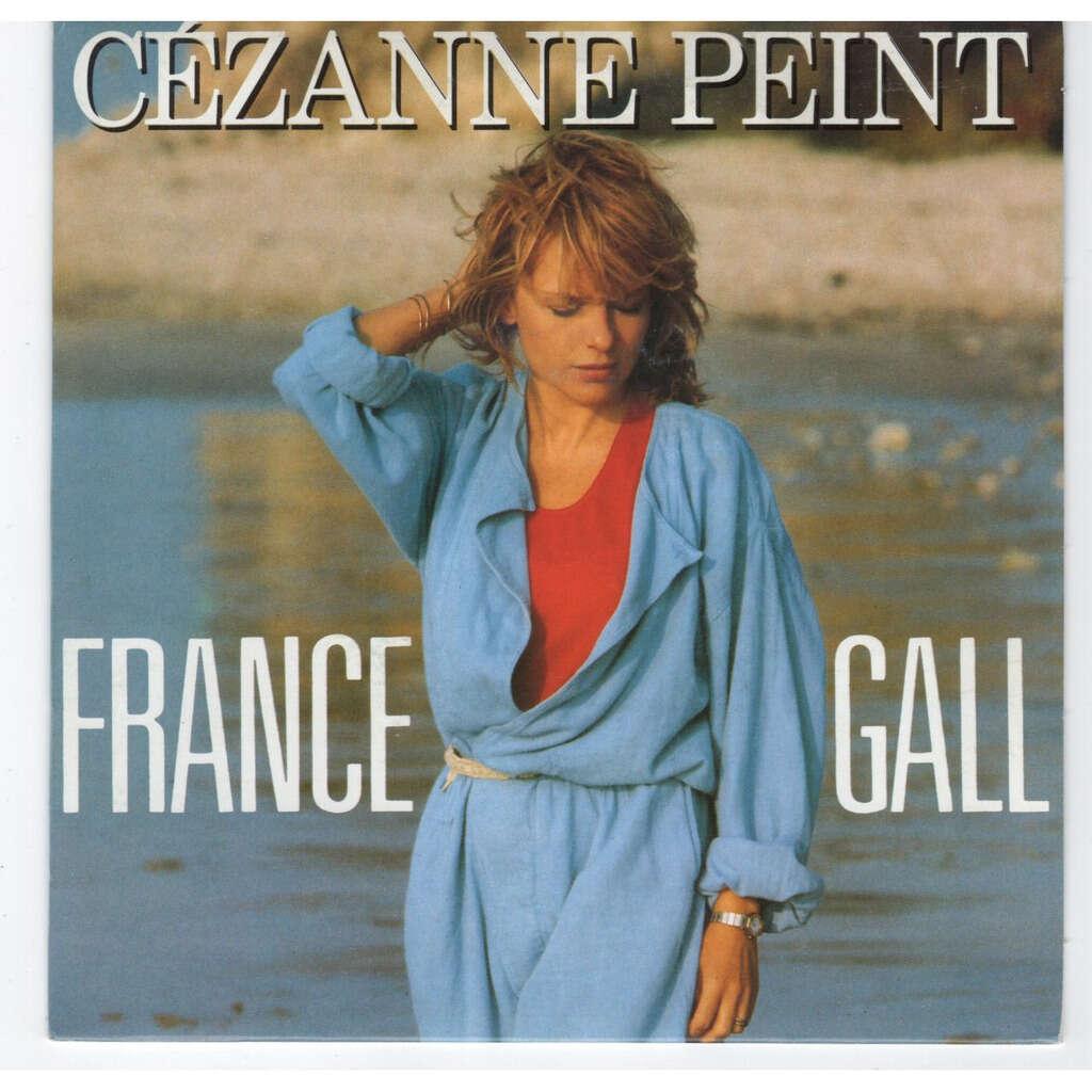 France Gall Cézanne peint