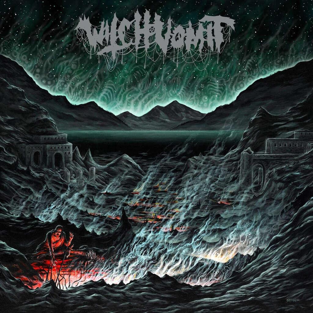 WITCH VOMIT Buried Deep in a Bottomless Grave. Black Vinyl