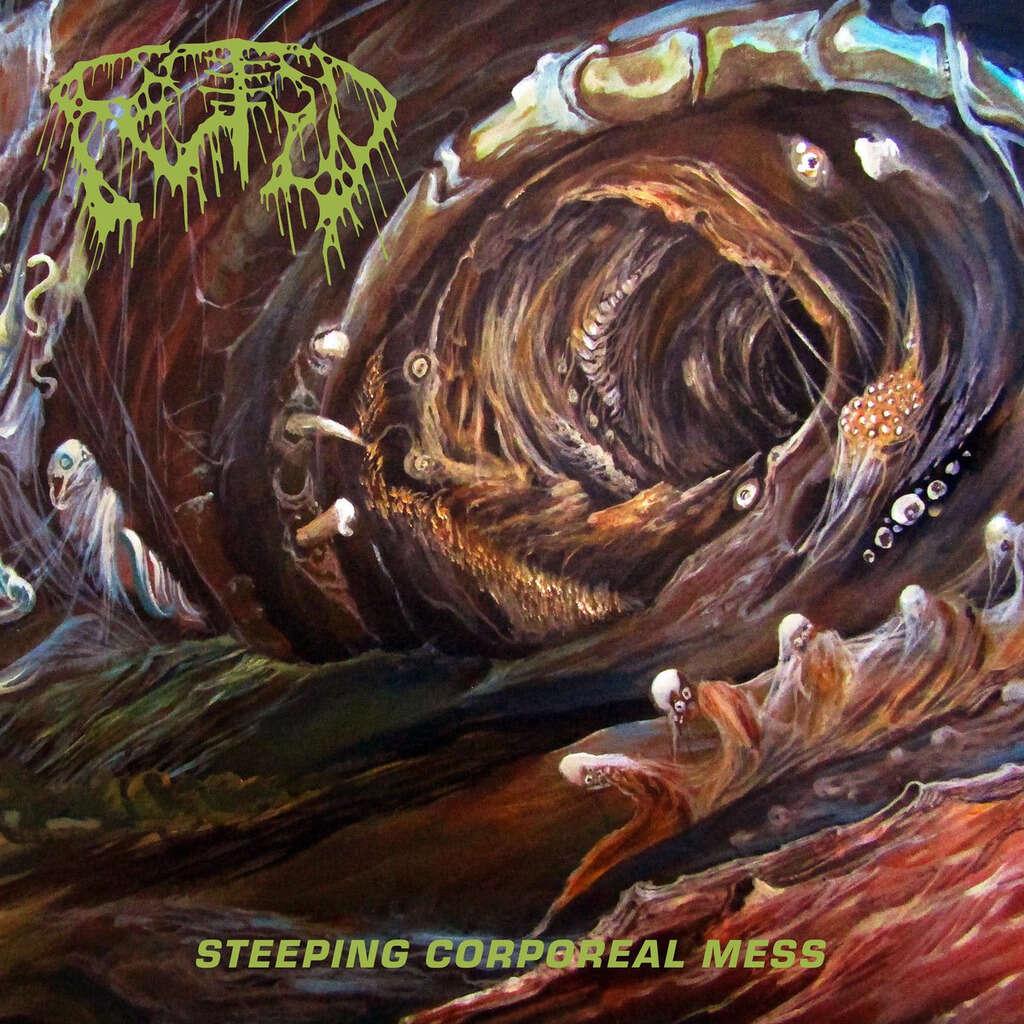 FETID Steeping Corporeal Mess. Splatter Vinyl