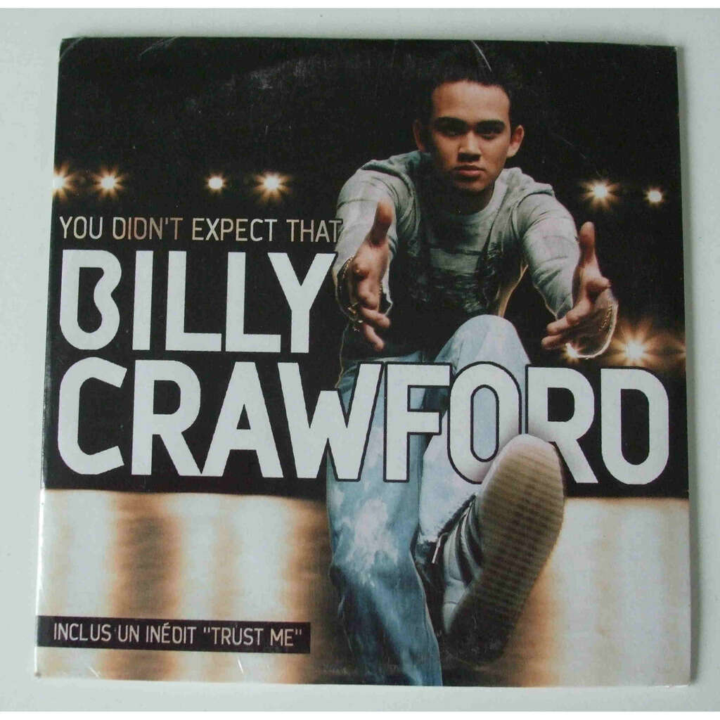 Billy Crawford You didn't expect me