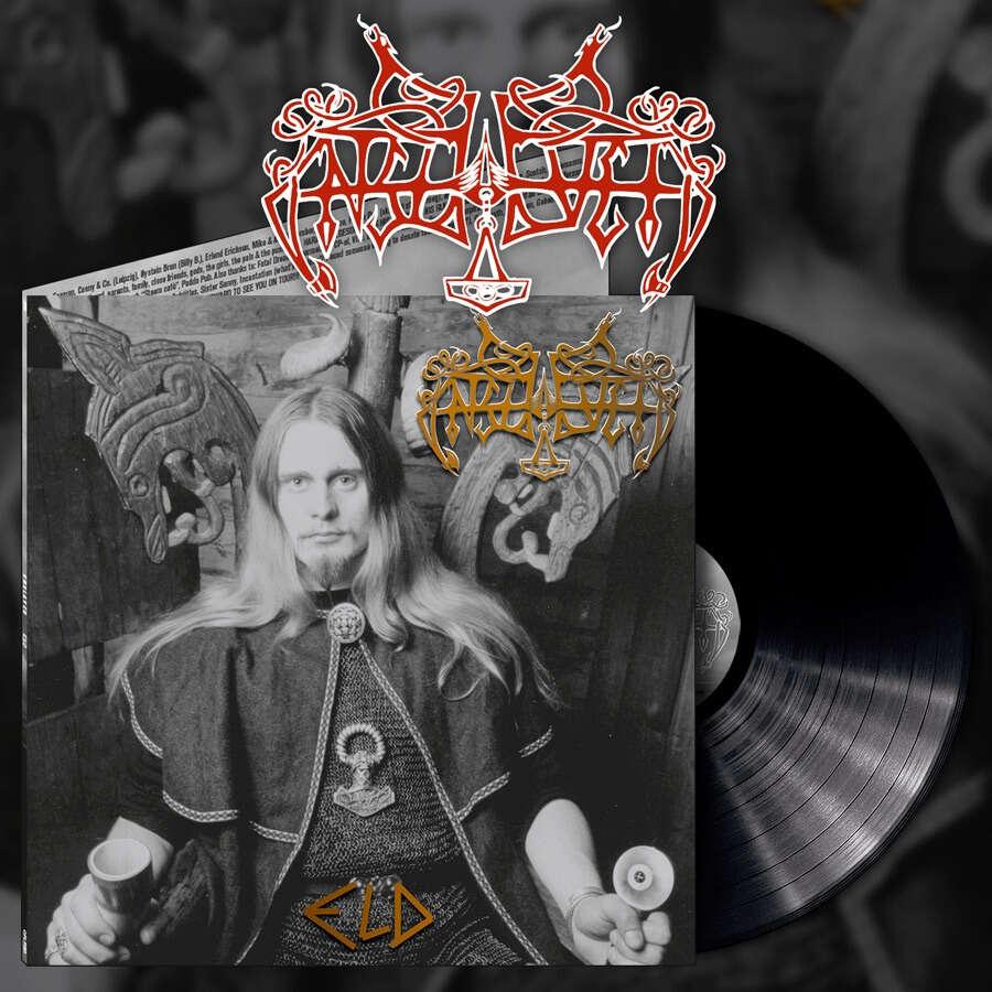 ENSLAVED Eld. Black Vinyl