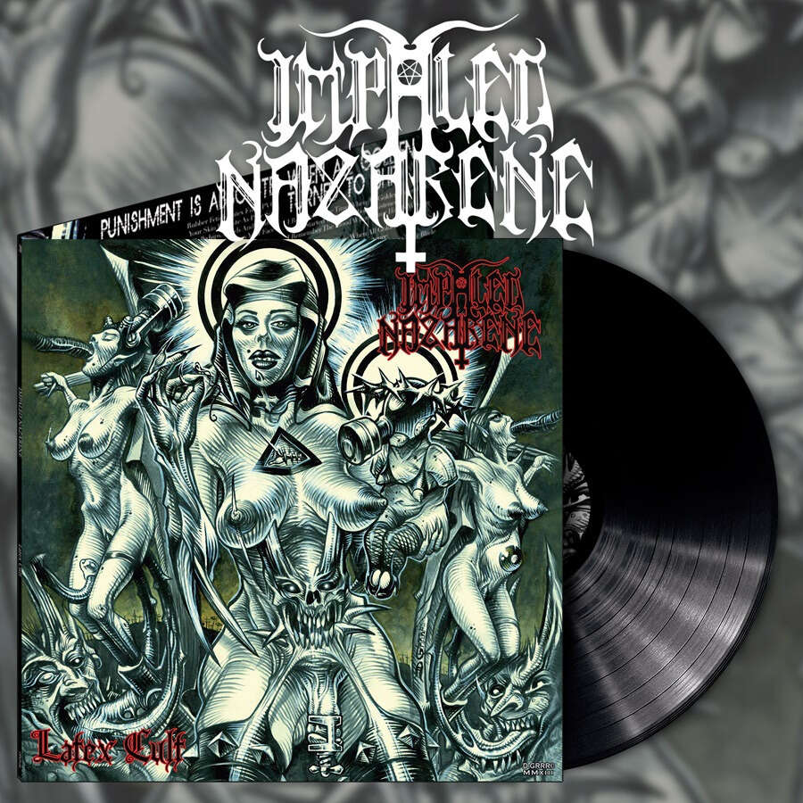 IMPALED NAZARENE Latex Cult. Black Vinyl