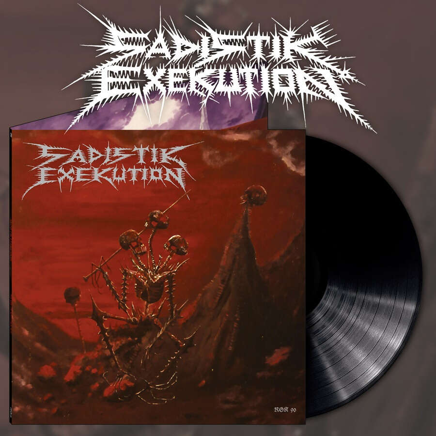 SADISTIK EXEKUTION We are Death Fukk You. Black Vinyl