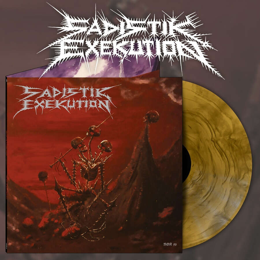 SADISTIK EXEKUTION We are Death Fukk You. Marble Vinyl