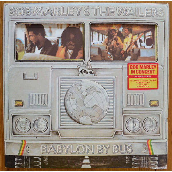 Bob Marley & The Wailers Babylon By Bus (avec poster)