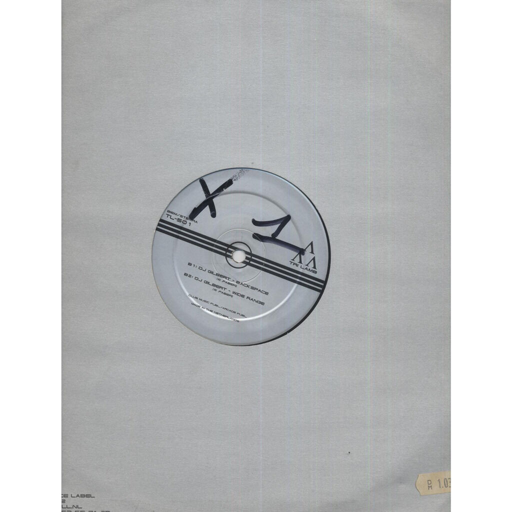 DJ Gilbert Coming Of Age / Backspace / Wide Range