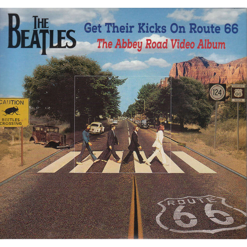 the beatles GET THEIR KICKS ON ROUTE 66