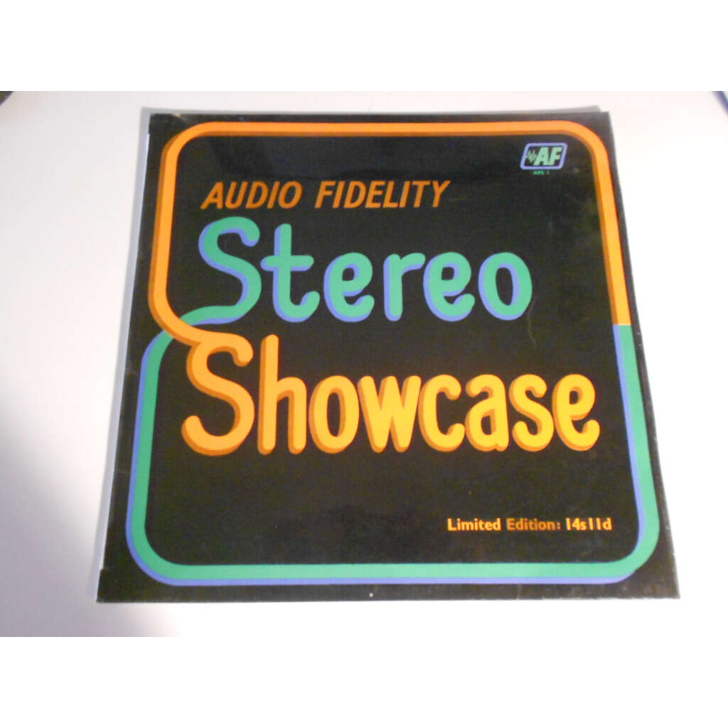 audio fidelity stereo showcase limited edition : 14s II d