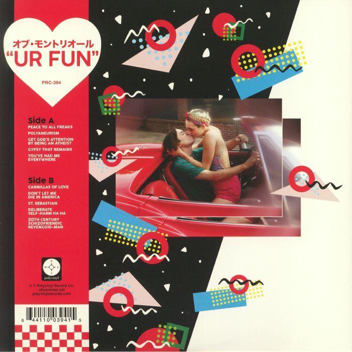 Of Montreal UR Fun (lp)