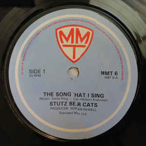 Stutz Bear Cats The Song That I Sing