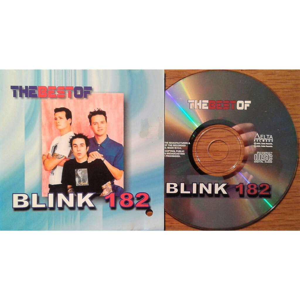 Blink 182 The Best Of (Russia-only 2003 Ltd 24-trk CD on Delta Records lbl absolutely unique ps)