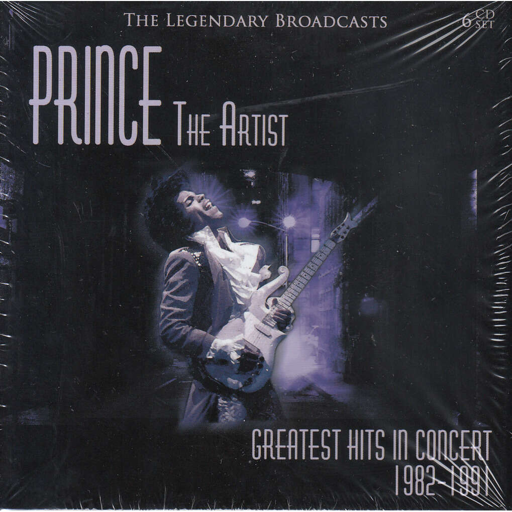 PRINCE GREATESTS HITS IN CONCERT 1982 1991
