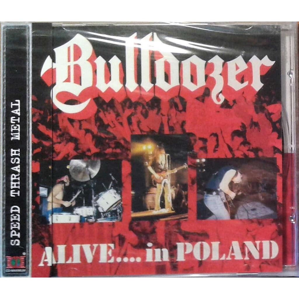 Bulldozer Alive....In Poland (Russia 2006 Ltd 11-trk CD unique ps + obi!! sealed copy!)