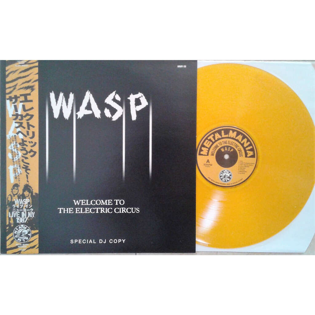 W.A.S.P. Welcome To The Electric Circus (RPI Fieldhouse Troy NY USA 29.01.1987)