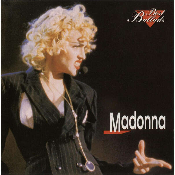 Madonna Best Ballads (Bulgaria-only 1997 Ltd 15-trk CD on Warner Bros lbl unique ps)