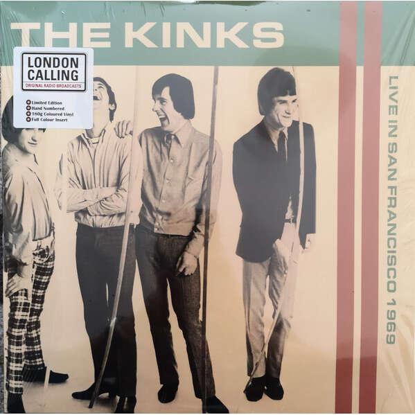 KINKS THE LIVE IN SAN FRANCISCO 1969