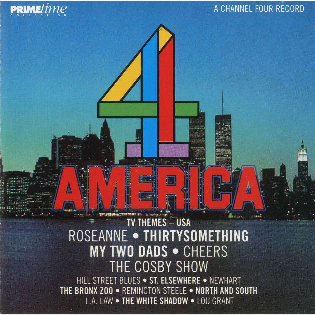 MICHAEL JONES / DANIEL CAINE 4 AMERICA - TV THEMES USA
