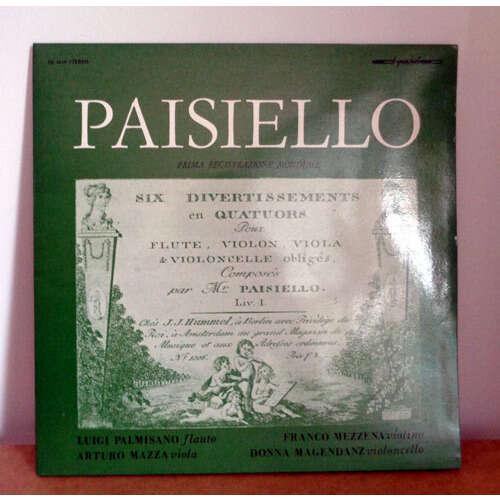 LUIGI PALMISANO & FRANCO MEZZENA & ARTURO MAZZA PAISIELLO Sei divertimenti a quartetto per flauto, violino, viola e violoncello obbligati