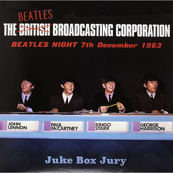 BEATLES THE THE BEATLES BROADCASTING CORPORATION: BEATLES NIGHT 7TH DECEMBER 1963