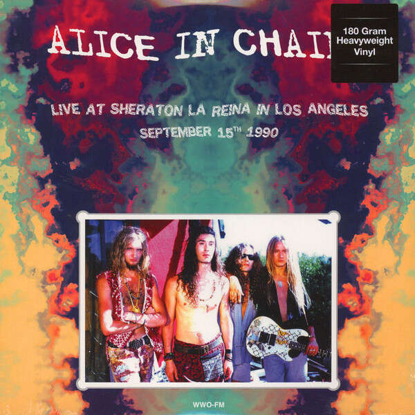 Alice In Chains Live At Sheraton La Reina In Los Angeles, September 15th 1990