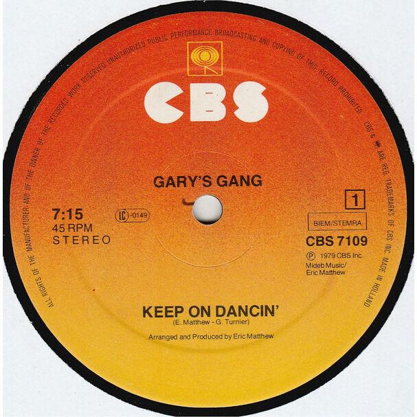 Gary's Gang Keep On Dancin' / Do It At The Disco