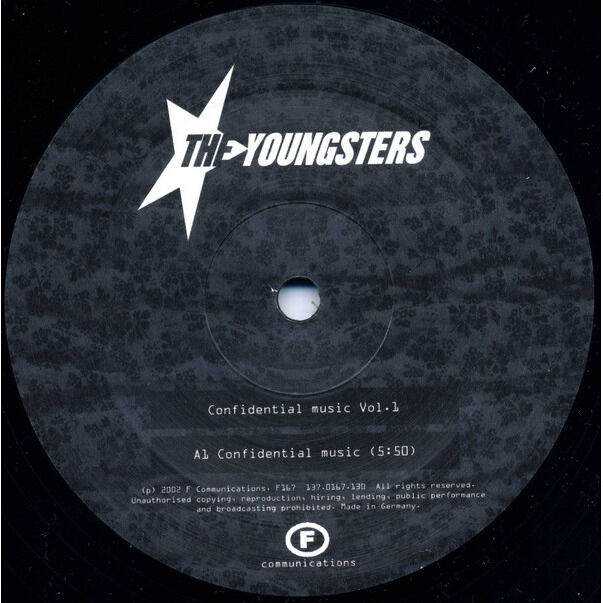 The Youngsters Confidential Music Vol. 1 ( Confidential Music / Curtains / Third Face )