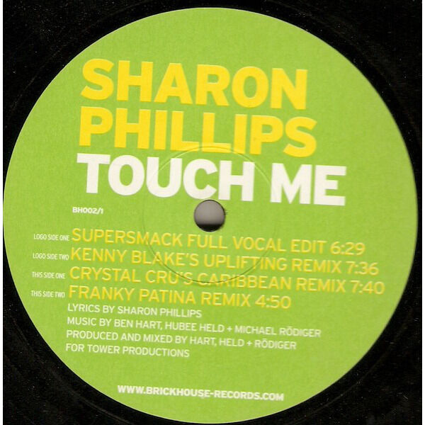 Sharon Phillips Touch Me