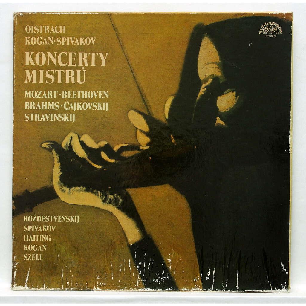 Vladimir Spivakov / David Oistrakh Tchaikovsky, Stravinsky, Beethoven & Brahms