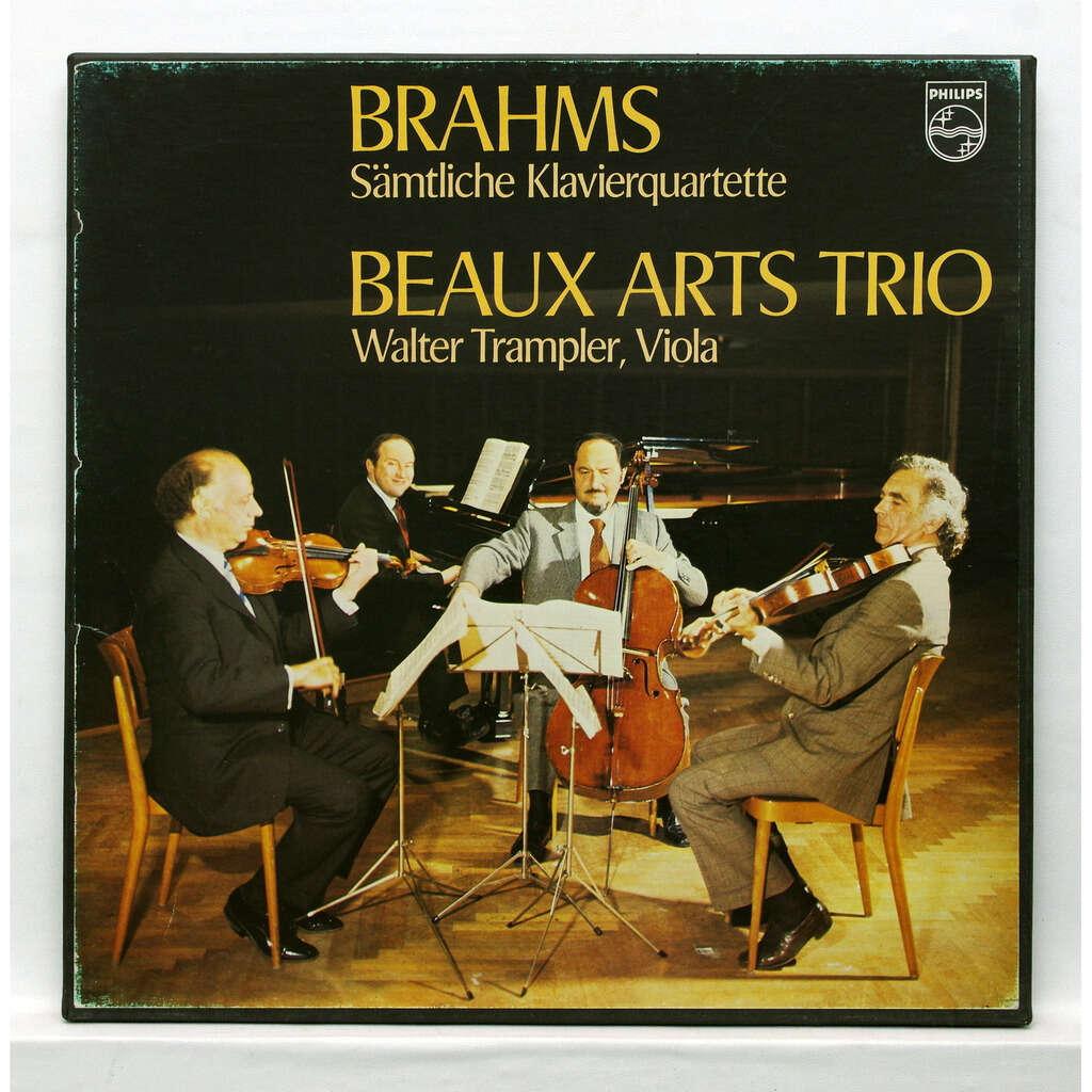 Beaux Arts Trio Brahms Complete piano quartets