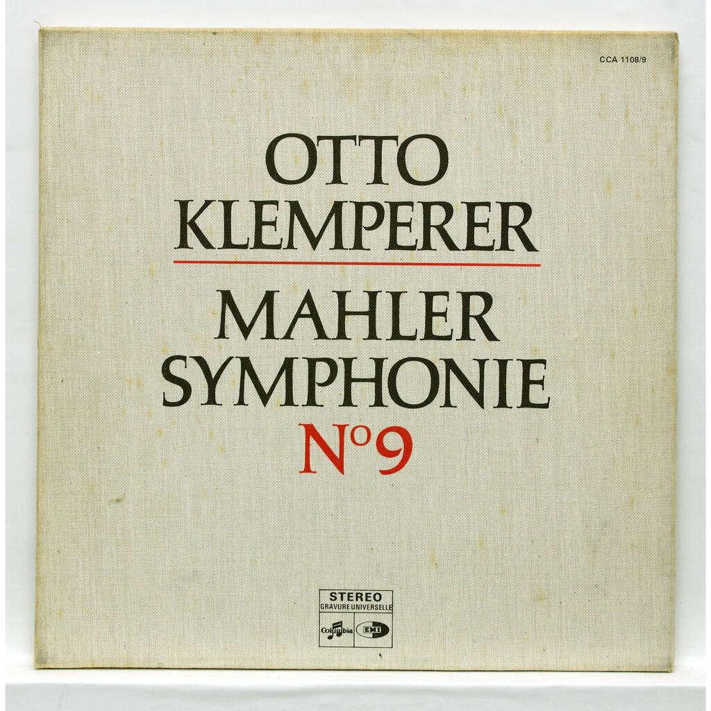 otto klemperer Mahler : Symphony no.9