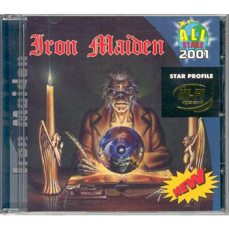 Iron Maiden Star Profile (Russia-only 2001 Ltd 14-trk CD on All Stars lbl absolutely unique ps)