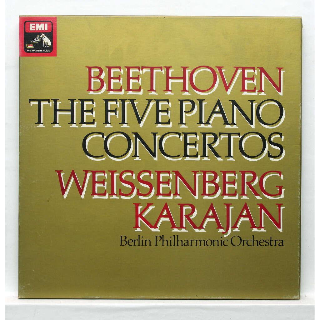 alexis weissenberg beethoven : the 5 piano concertos