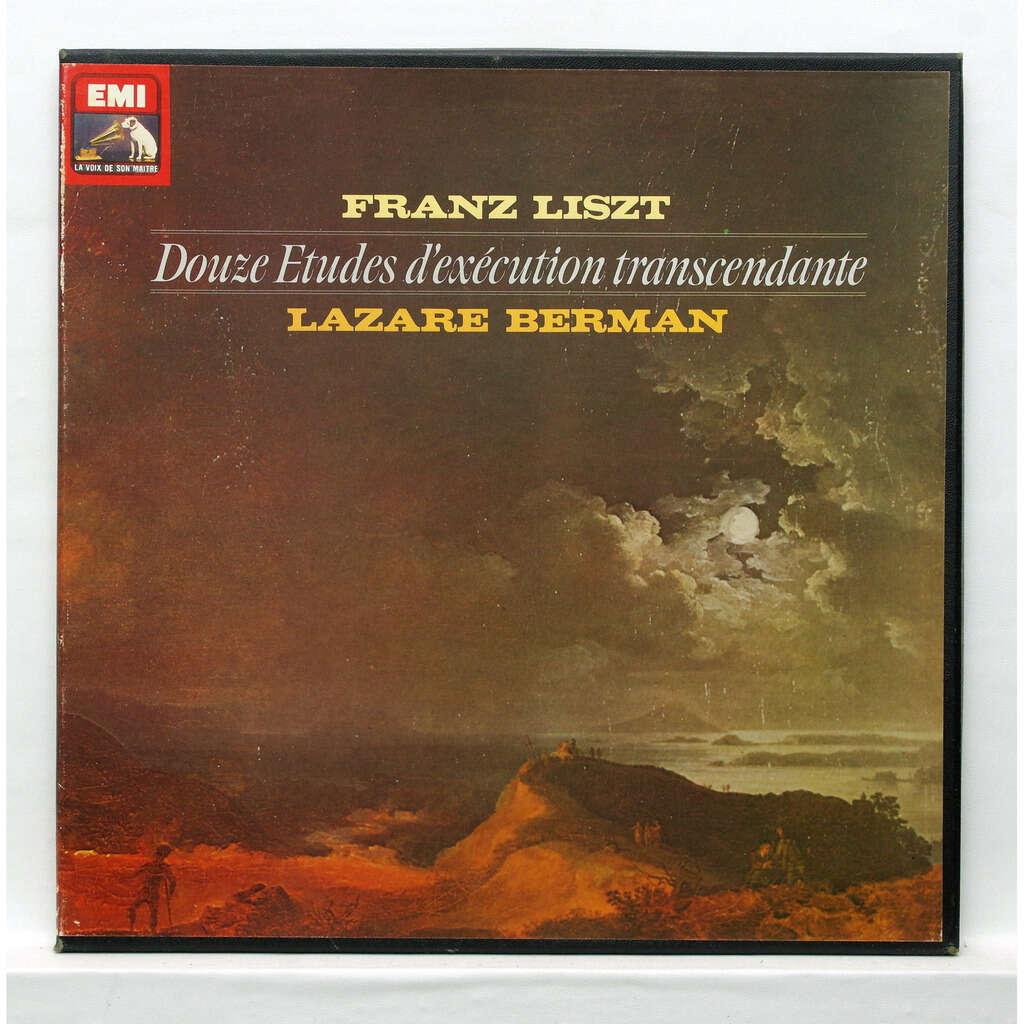 Lazar Berman Liszt : 12 Etudes d'Exécution transcendante