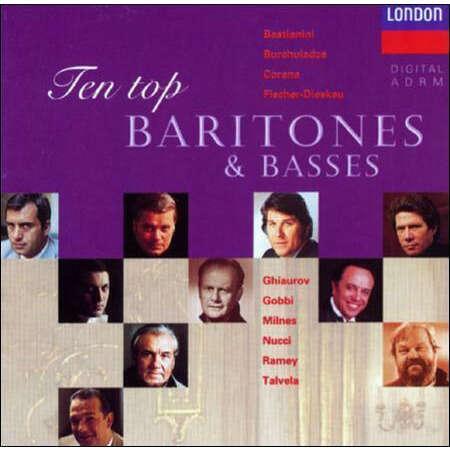 Nucci, Ramey, Talvela, Corena, Gobbi, Burchuladze Ten Top Baritones & Basses