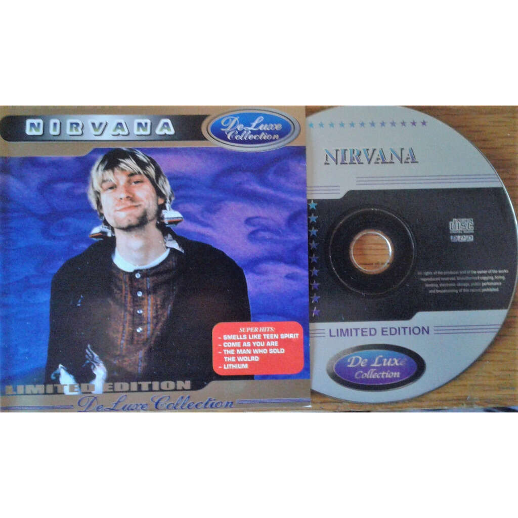 Nirvana De Luxe Collection (Russia-only Ltd 24-trk CD on Dream Sound Studio lbl absolutely unique ps)