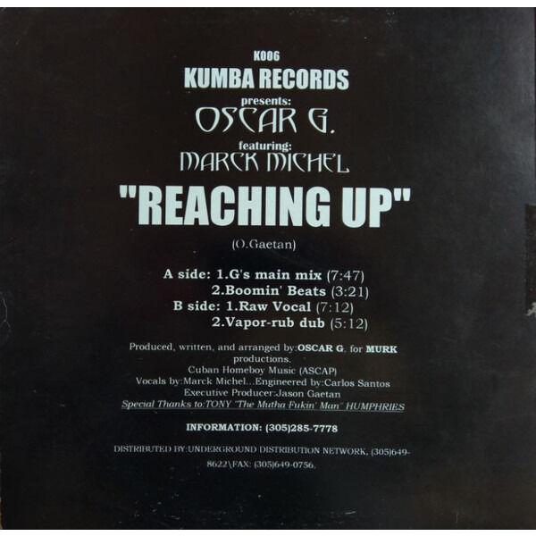 Oscar G. Featuring Marck Michel Reaching Up