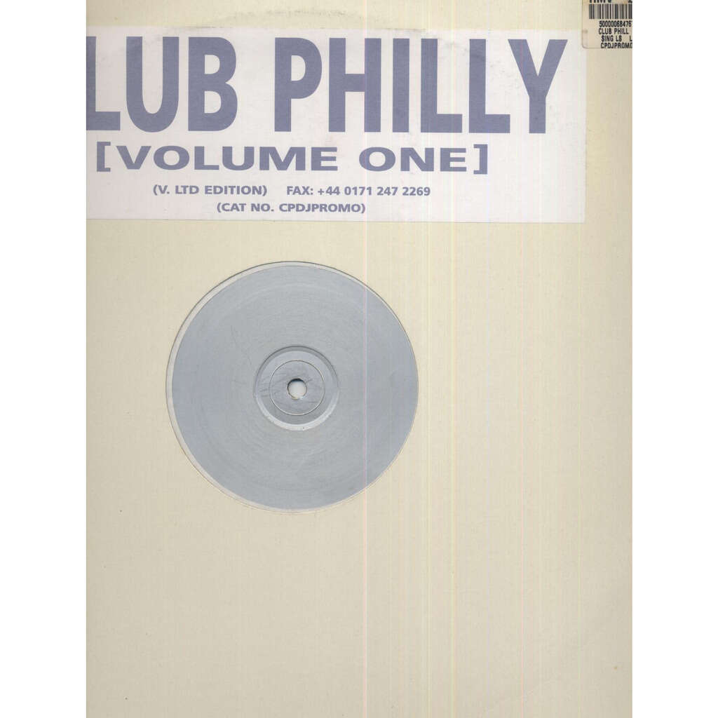 Househunters vs. The O'Jays Club Philly (Volume One) - Love Train '98 (Promo Single Sided)