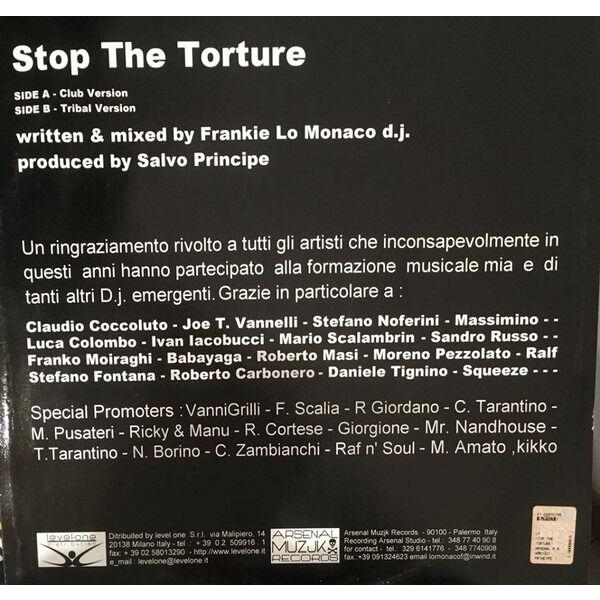 Frankie Lo Monaco Stop The Torture