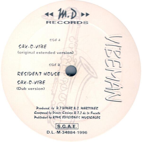 Vibeman (Part Three) Sax-O-Vibe x2 / Resident House