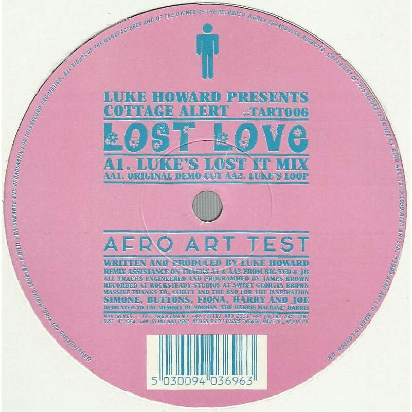 COTTAGE ALERT lost love - 3mix