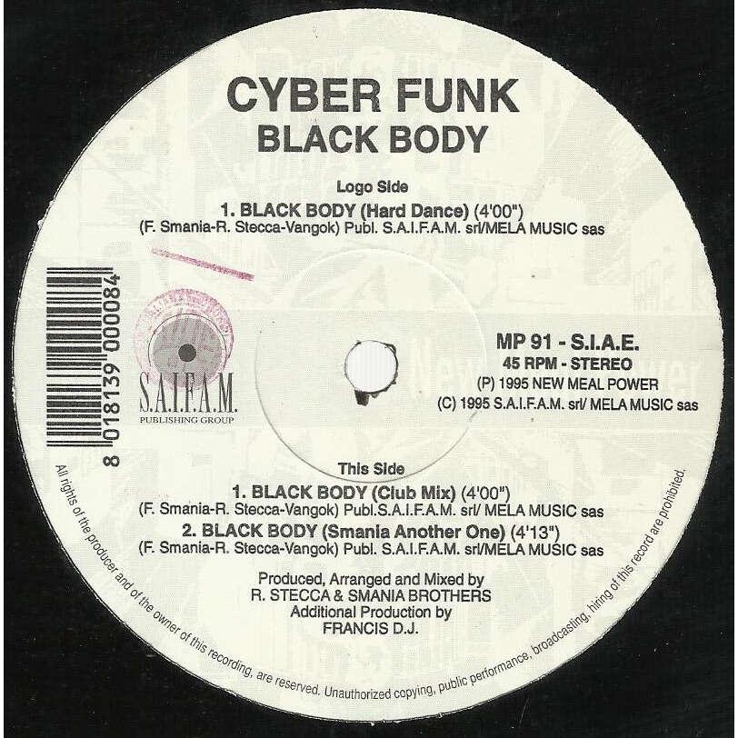 CYBER FUNK black body - 3mix