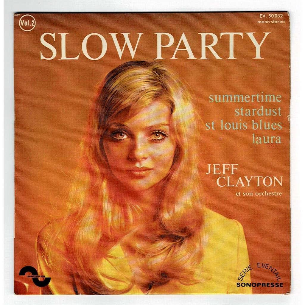 CLAYTON JEFF summertime + 3 ( avec son orchestre / vol.2 )