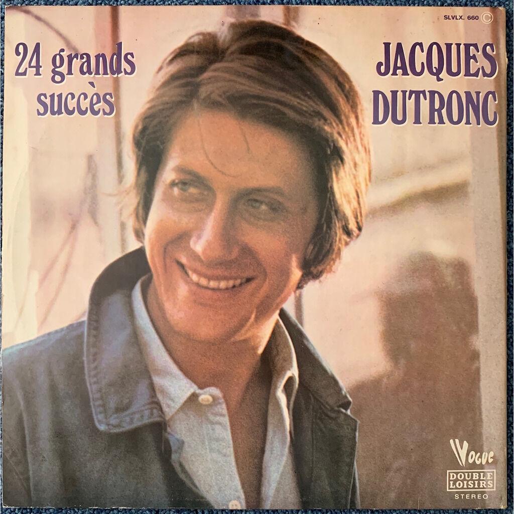 JACQUES DUTRONC 24 GRANDS SUCCÈS