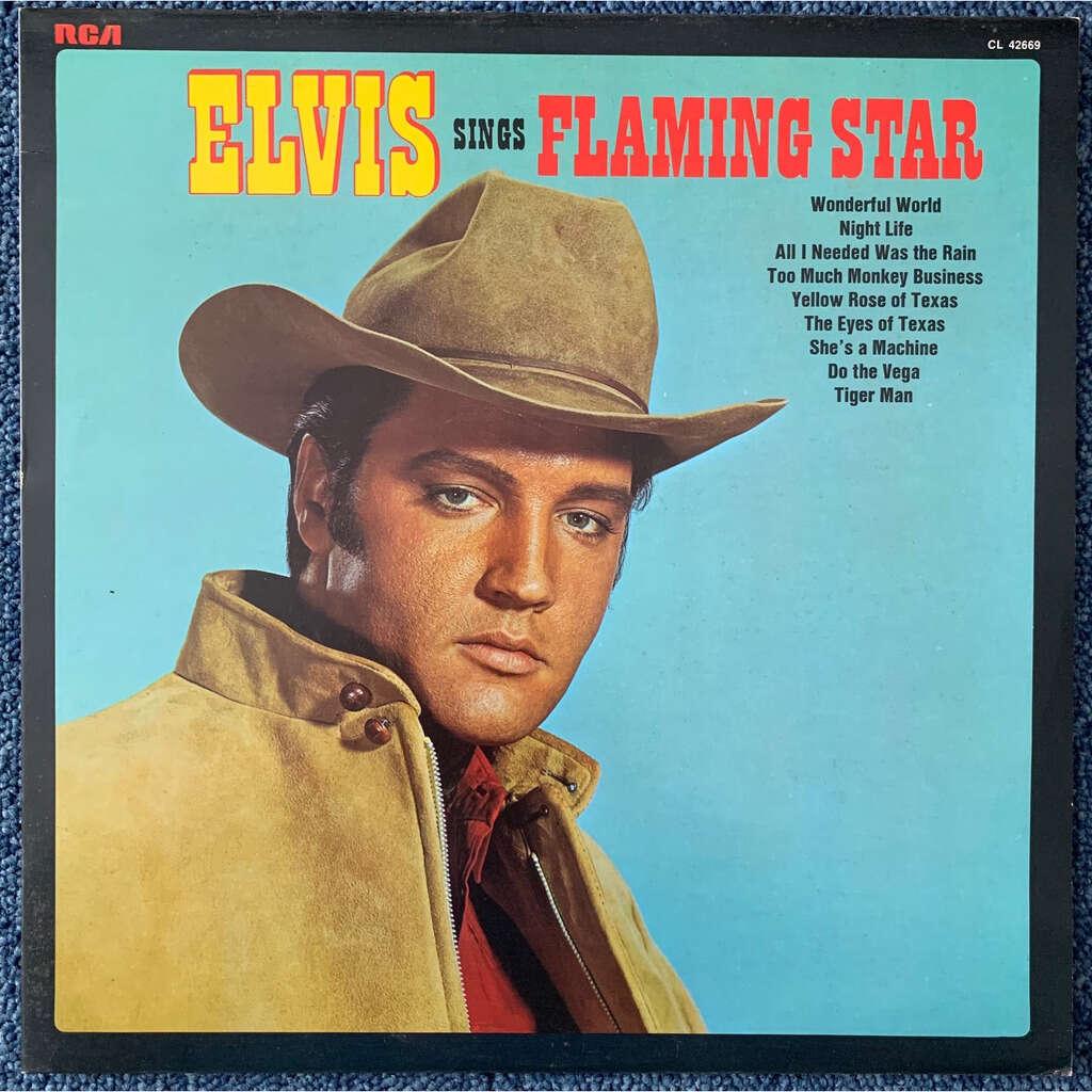 ELVIS PRESLEY FLAMING STAR