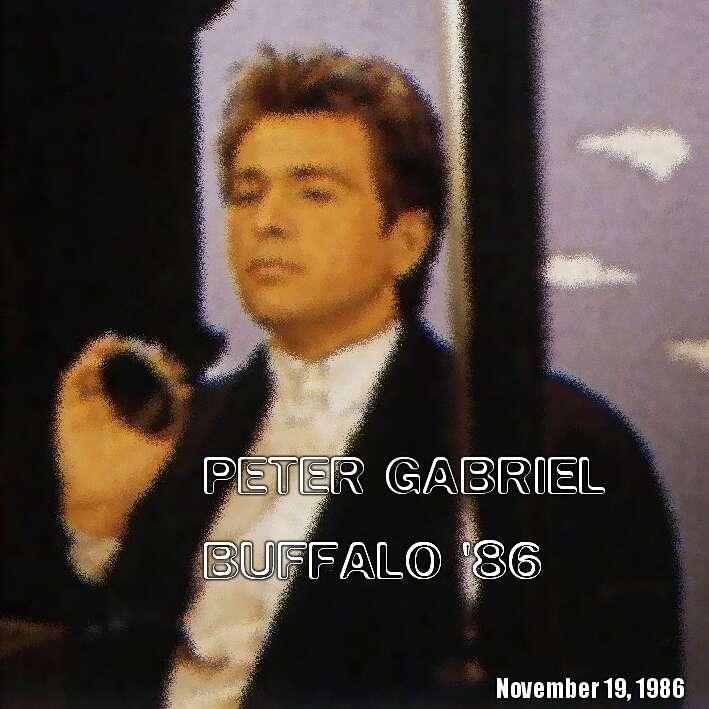PETER GABRIEL BUFFALO 1986