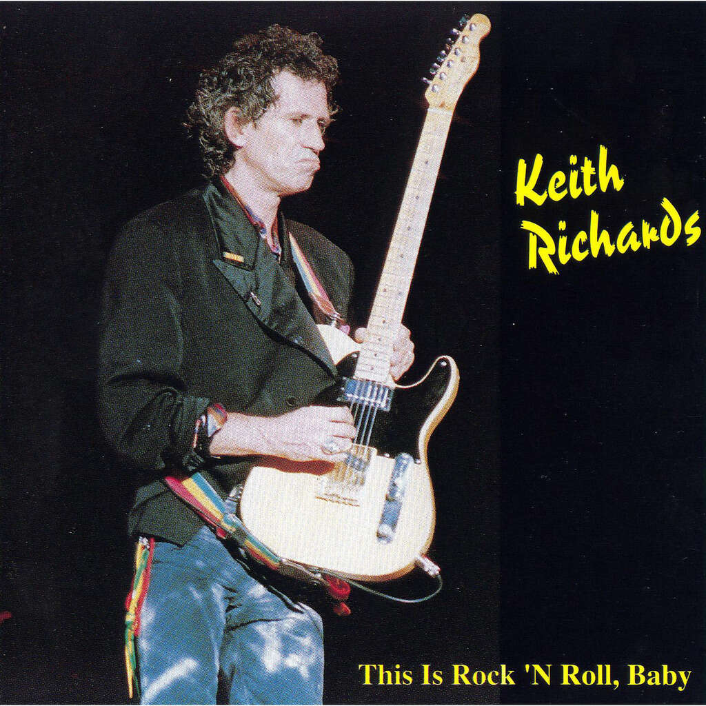 ROLLING STONES - KEITH RICHARDS CHICAGO 1992
