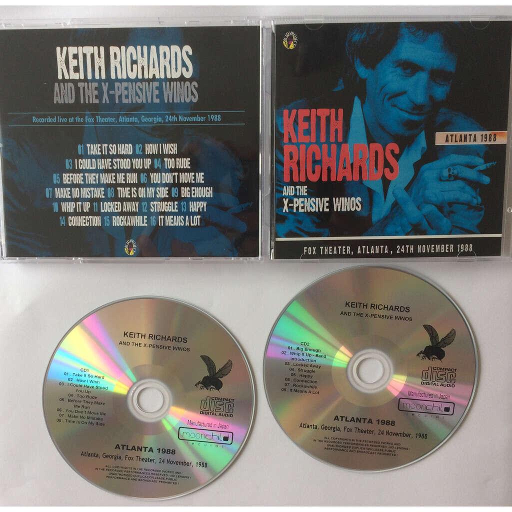 ROLLING STONES - KEITH RICHARDS ATLANTA 1998