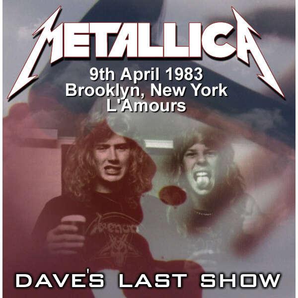 METALLICA Dave Mustaine's Last Show