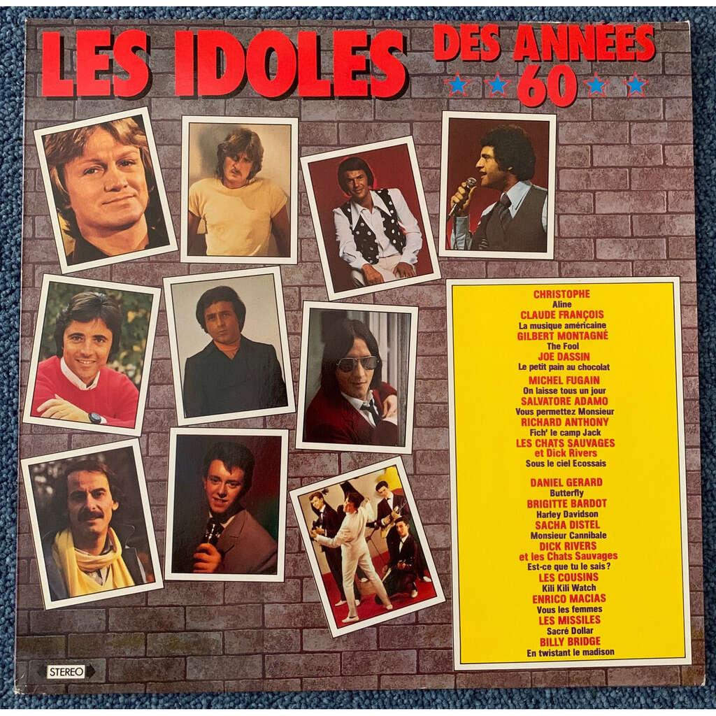 various les idoles des années 60