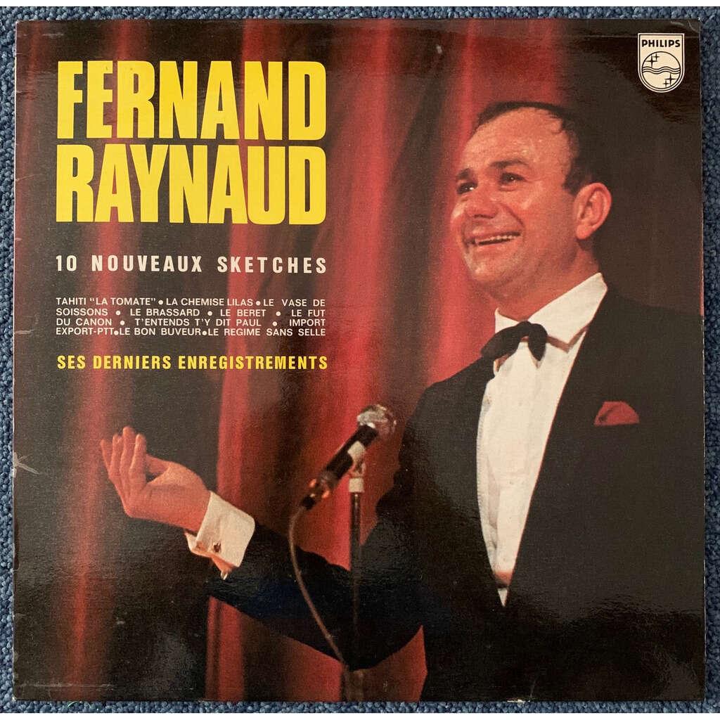 fernand raynaud ses derniers enregistrements
